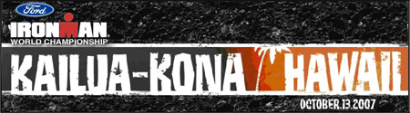Ironman World Championship Kona, Hawaii